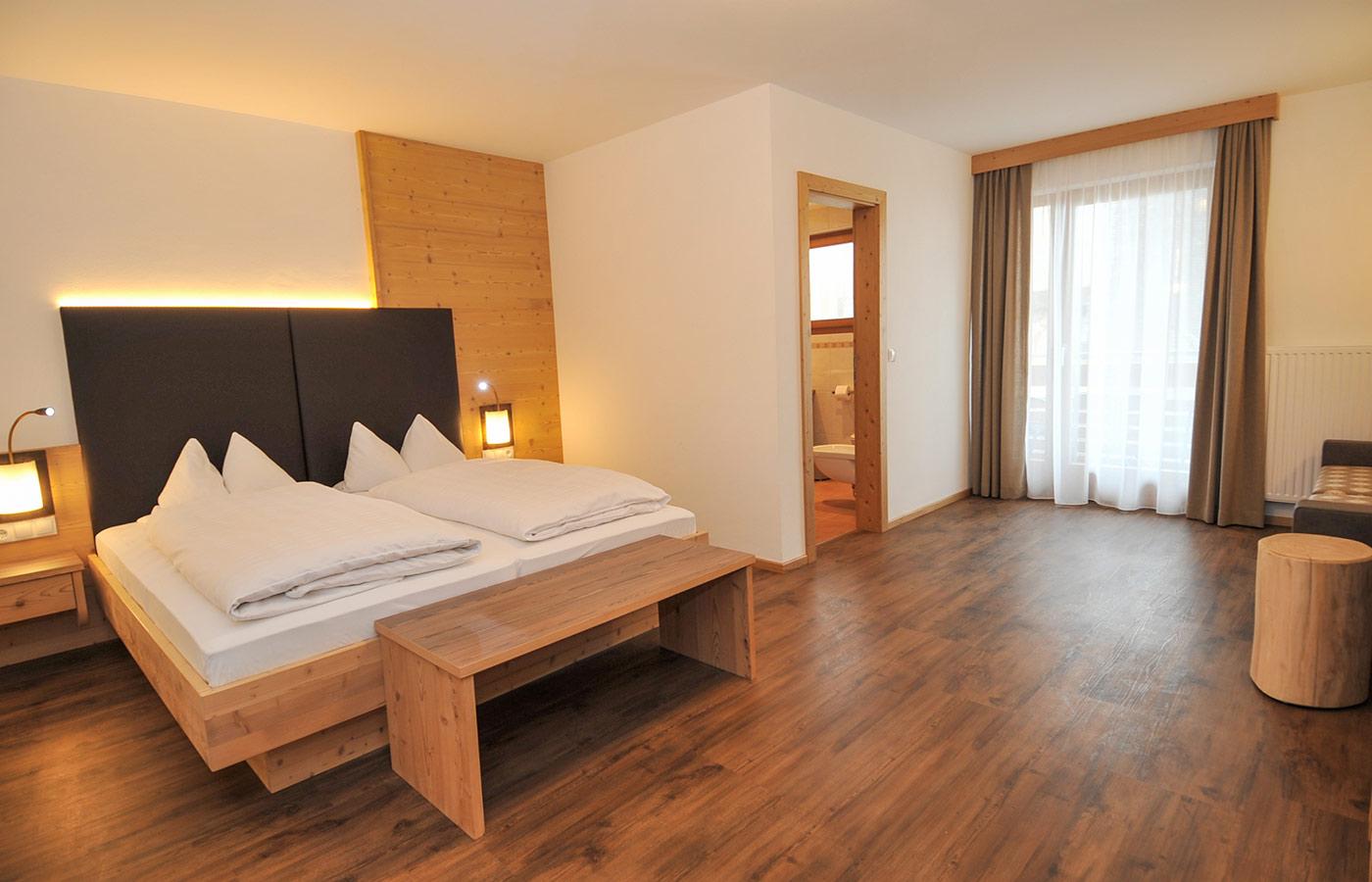 Brunnerhof Spinga: camere ampie e confortevoli